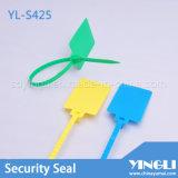 Selos plásticos da segurança com etiqueta grande (YL-S425)
