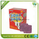 Küche verwendete Feld-Edelstahl-Wolle-Seifen-Auflagen