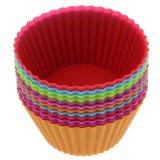 Silikon-Kuchen-Cup-Küche-Fertigkeit-Kuchen-Kästen