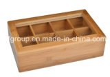 Plateau en bois de Flowerpot de cadre en bois de cru