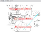 Pedaal 4120000096 van de Versneller van de Dieselmotor van de Vervangstukken van de Lader van het Wiel van Sdlg LG936L