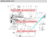 Sdlg LG936L 바퀴 로더 예비 품목 디젤 엔진 가속 장치 페달 4120000096