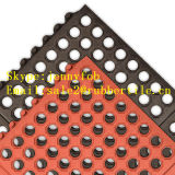 Anti Slip and Drainage Rubber Mats Anti-Slip Mats de cozinha Acid Resistant Rubber Mat