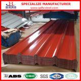 Zink beschichtete gewellte Stahldach-Fliese färben