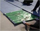 Film-selbstklebende wasserdichte Membrane 1.2 mm-PET-/HDPE-/EVA für Dach /Garage /Basement /Underground /Underlay