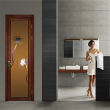 Portelli di alluminio di vetro della stanza da bagno di Temped di nuovo disegno (SC-AAD051)