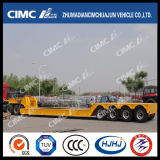 Removable Hydraulic Gooseneck를 가진 4axle Lowbed Semi-Trailer