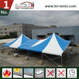 Decagonal Enden-Kurven-Zelt für Ereignisse