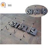 장식적인 철 기계설비를 위한 가공하는 수동 일폭 구부리는 기계