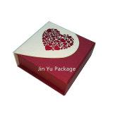 Rectángulo de almacenaje de la joyería del regalo de la joyería del papel de la cartulina del imán Jy-Jb183