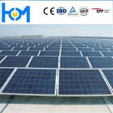 Vidrio de revestimiento solar fotovoltaico templado con alta transmitancia