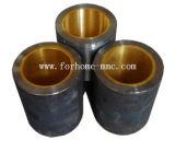 Doublure bavure bimétallique en acier au cuivre résistant à l'usure