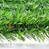 Conversão artificial do Boxwood plástico verde da cerca da folha da HERA do jardim