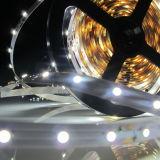 Strisce bianche/nere di DC12V del PWB di bianco 5050 30LEDs/M LED