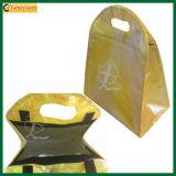 Круглый Die-Cutting мешок ручек прокатанный PP более холодный (TP-CB163)