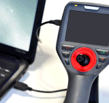 объем индустрии портативная пишущая машинка 3.8mm видео- с сочленением конца 4-Way, кабелем 2m испытывая