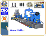 Turning Roller (CG61250)를 위한 Moving Support를 가진 Designed 특별한 CNC Lathe