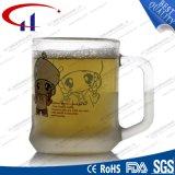 240ml Decaled Blumen-Glaswasser-Cup (CHM8099)