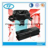 Sacs d'ordures de sachets en plastique de sac à ordures de HDPE sur le roulis