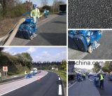 Машина съемки моста, бетона и дорожного покрытия взрывая