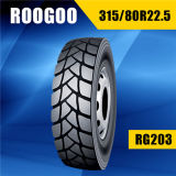 Pneumático radial qualificado barato novo do caminhão de China (315/80R22.5 1200R20)