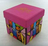 Steifer verpackender quadratischer Kasten für Spielzeug der Kinder mit Kappe