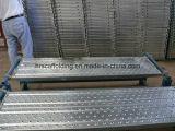 Tablón del andamio/tarjeta de acero de la caminata de la plataforma para la construcción