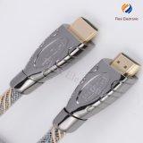 Le câble de la qualité HDMI 2.0b pour PS3, Bleu-Rayon, supporte 1080P
