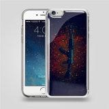iPhone Samsung 투명한 인쇄 반대로 중력 세포 또는 이동 전화 덮개 케이스를 위해