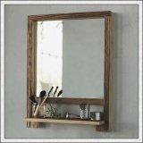 Espelho de prata decorativo com frame