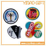 衣類(YBpH04)のためのカスタムロゴの刺繍パッチのシュニール