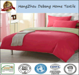 無地のMicrofiberのベッドの寝具は工場卸売価格を広げる