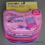 Bib 100% младенца хлопка мягкий милый с печатание