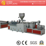 El PVC WPC hizo espuma máquina de la fabricación de la placa