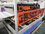 높은 제품 효율성 PVC에 의하여 윤이 나는 물결 모양 지붕 생산 라인