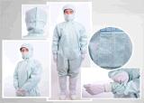 Roupa antiestática de limpeza diferencial para sala limpa