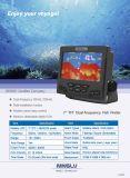 Buscador de 7 pescados de la pulgada con Dual-Frequency, profundidad a 200meters