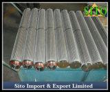 Acero inoxidable 316 de alambre de malla de agua / gas / filtro de aceite del cilindro