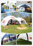 Tente gonflable Gazebo X pour utilisation de l'événement