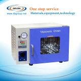 Tipo pequeno forno do laboratório do vácuo para equipamento de secagem do laboratório da bateria de íon de lítio