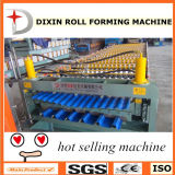 Dixin runzelte Panel und trapezoide Panel-Doppelt-Plattform-Maschinerie