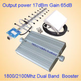 1800/2100 ripetitore/di ripetitore a due bande del segnale del telefono delle cellule 3G