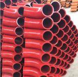 Desgaste de oposição do desgaste - curvatura resistente da bomba concreta