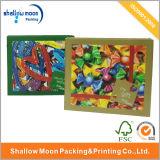 Caja de empaquetado hecha a mano de encargo de la impresión colorida (AZ121925)