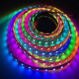 Striscia flessibile indirizzabile programmabile di RGB LED del pixel di DC5V 5050