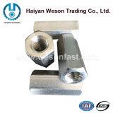 Noce di accoppiamento Hex dell'acciaio inossidabile, noce lunga Hex