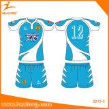 Sportswear novo livre da roupa de Jersey do rugby do projeto de Healong