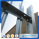 La última valla de seguridad de hierro forjado con Recubrimiento de polvo