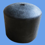 Instalación de tuberías del HDPE del casquillo de extremo de la fusión del tope para el abastecimiento de agua