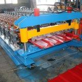 Roulis en acier de panneau du toit R d'onde de couleur formant la machine